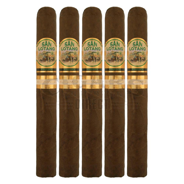 Load image into Gallery viewer, AJ Fernandez San Lotano Requiem Habano Churchill 5 Pack