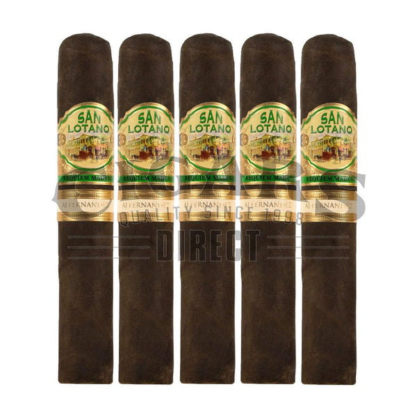Load image into Gallery viewer, AJ Fernandez San Lotano Requiem Maduro Gran Toro 5 Pack