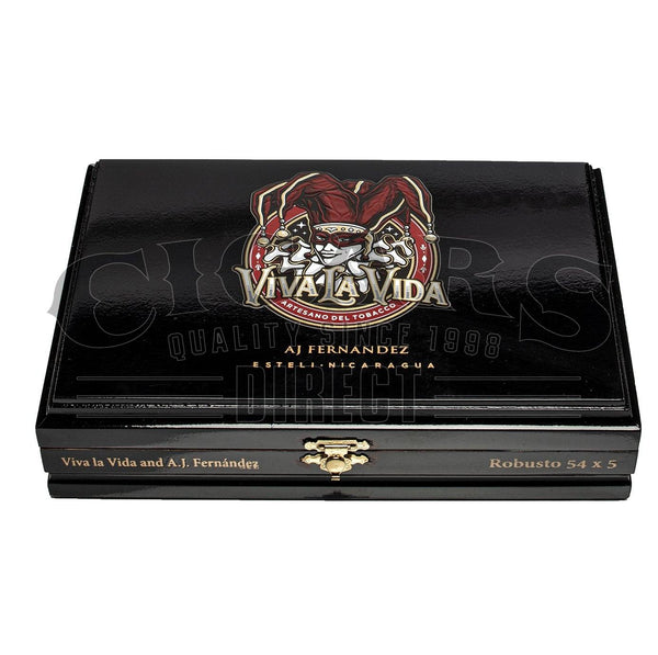 Load image into Gallery viewer, AJ Fernandez Viva La Vida Robusto Closed Box