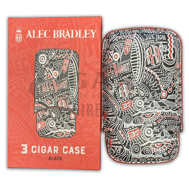 Alec Bradley 3 Cigar Leather Case with Box