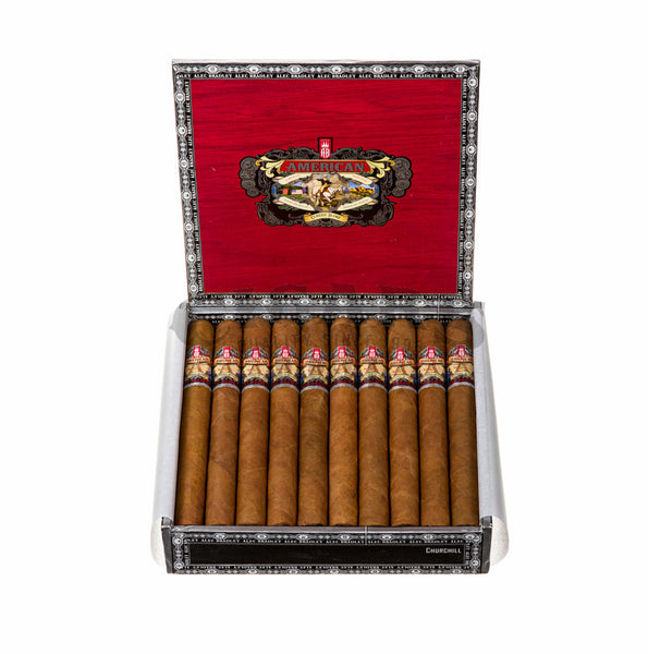 Load image into Gallery viewer, Alec Bradley American Classic Blend Churchill Box Open