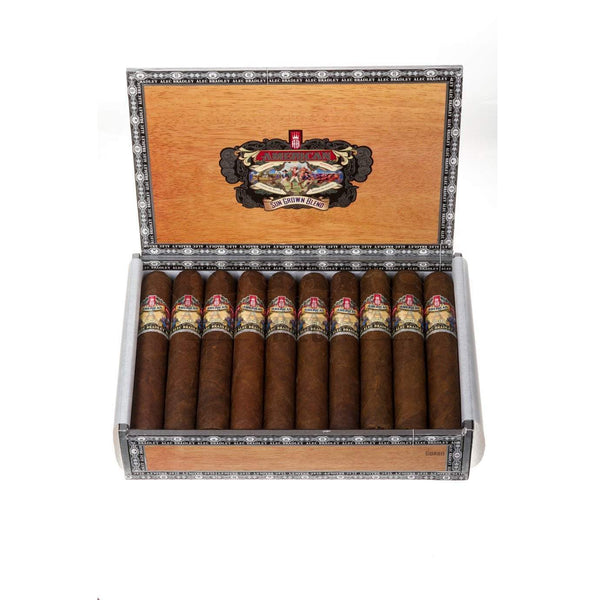 Load image into Gallery viewer, Alec Bradley American Sungrown Blend Gordo Box Open