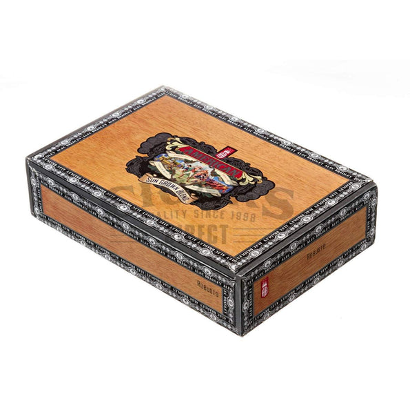Load image into Gallery viewer, Alec Bradley American Sungrown Blend Robusto Box Closed