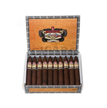 Load image into Gallery viewer, Alec Bradley American Sungrown Blend Torpedo Box Open