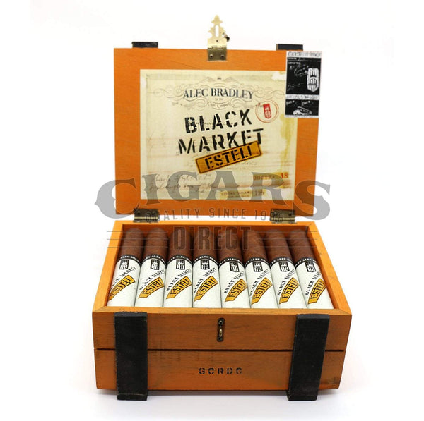 Load image into Gallery viewer, Alec Bradley Black Market Esteli Gordo Opened Box