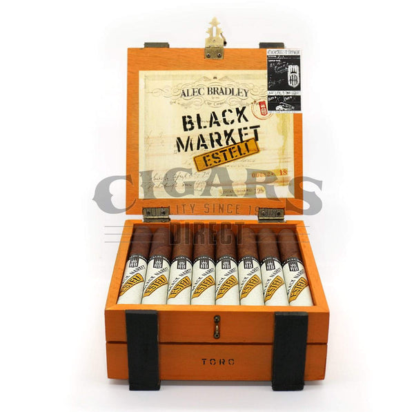 Load image into Gallery viewer, Alec Bradley Black Market Esteli Toro Opened Box