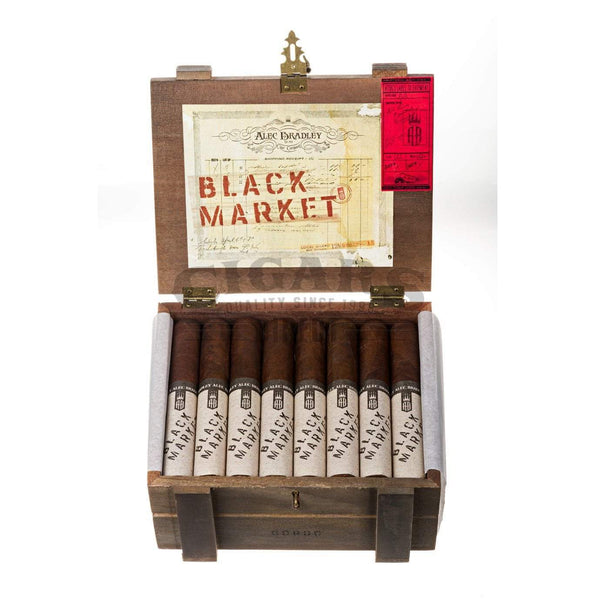Load image into Gallery viewer, Alec Bradley Black Market Gordo Box Open