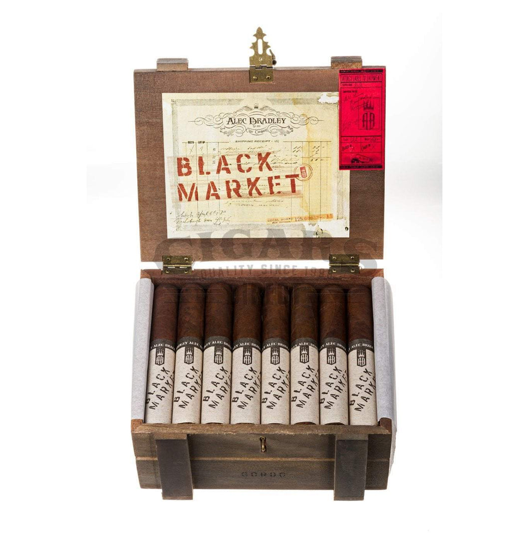 Alec Bradley Black Market Gordo Box Open