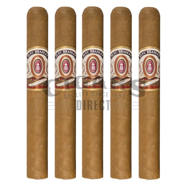 Load image into Gallery viewer, Alec Bradley Connecticut Toro 5 Pack