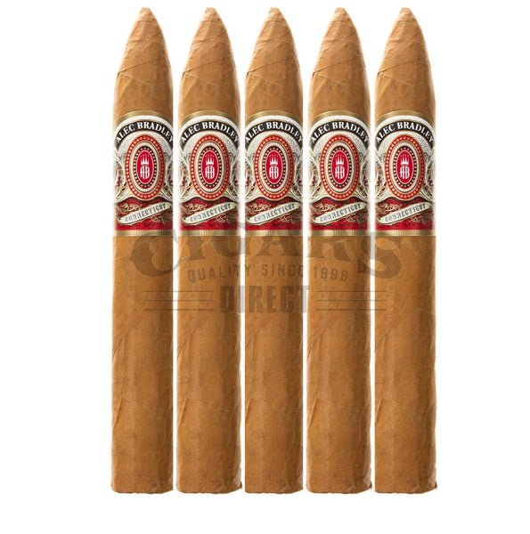 Load image into Gallery viewer, Alec Bradley Connecticut Torpedo 5 Pack