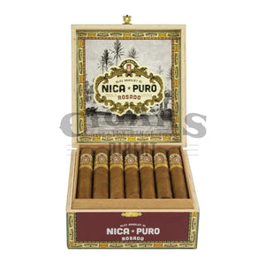 Alec Bradley Nica Puro Rosado Churchill Opened Box