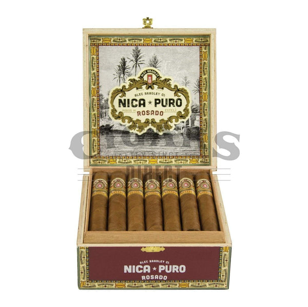 Load image into Gallery viewer, Alec Bradley Nica Puro Rosado Churchill Opened Box