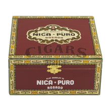 Load image into Gallery viewer, Alec Bradley Nica Puro Rosado Torpedo Closed Box