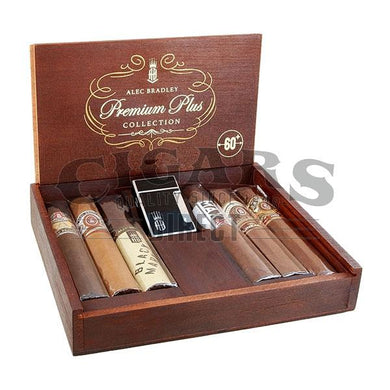 Alec Bradley Premium Plus Collection Sampler Box Open