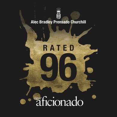 Alec Bradley Prensado Churchill 96 Rated