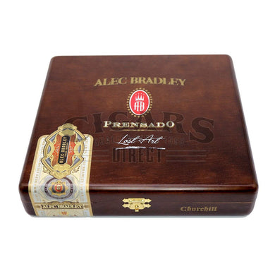 Alec Bradley Prensado Lost Art Churchill Closed Box