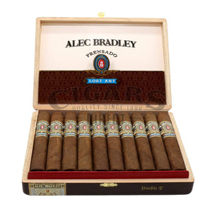 Alec Bradley Prensado Lost Art Double T Opened Box
