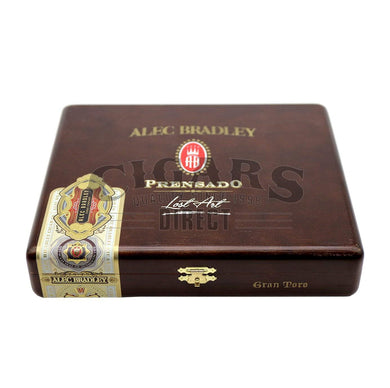Alec Bradley Prensado Lost Art Gran Toro Closed Box