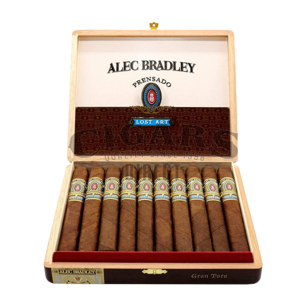 Load image into Gallery viewer, Alec Bradley Prensado Lost Art Gran Toro Opened Box