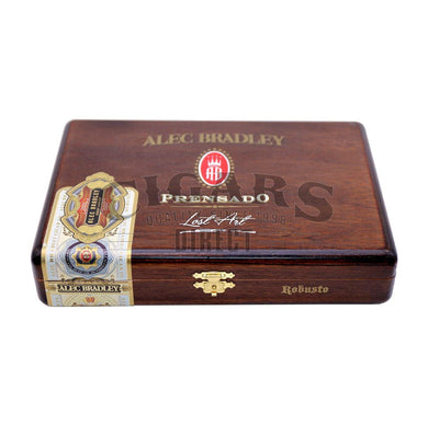 Alec Bradley Prensado Lost Art Robusto Closed Box