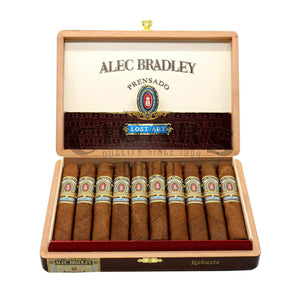 Alec Bradley Prensado Lost Art Robusto Opened Box