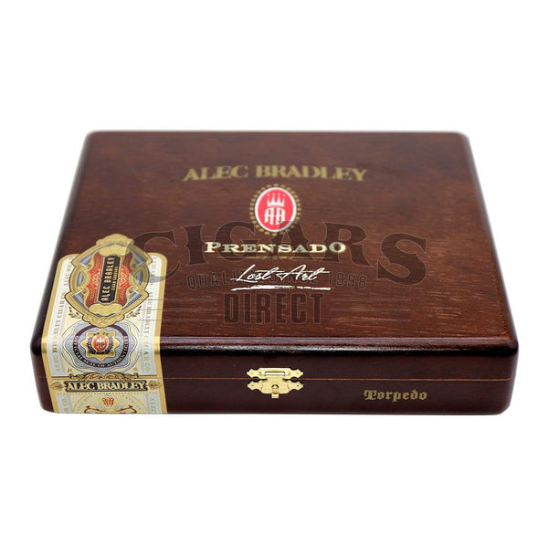 Load image into Gallery viewer, Alec Bradley Prensado Lost Art Torpedo Closed Box