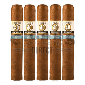 Alec Bradley Project 40 Robusto 05.50 5 Pack