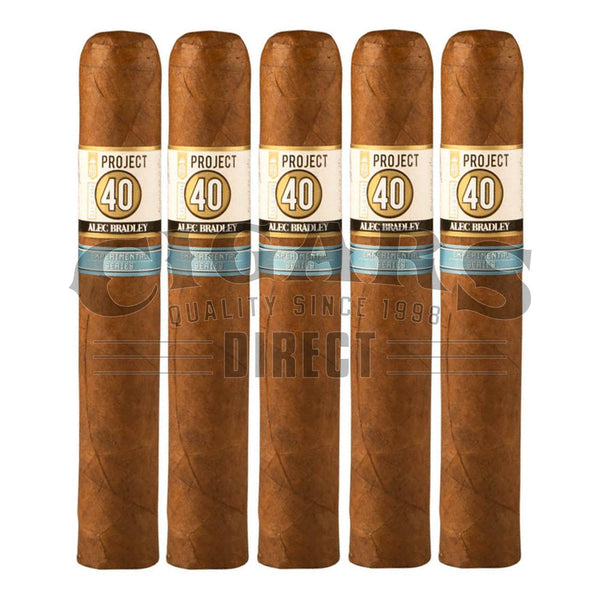 Load image into Gallery viewer, Alec Bradley Project 40 Robusto 05.50 5 Pack