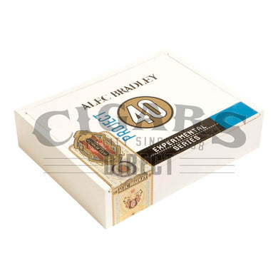 Alec Bradley Project 40 Robusto 05.50 Box Closed
