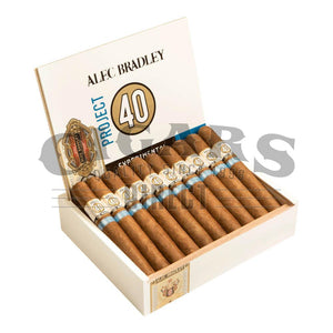 Alec Bradley Project 40 Robusto 05.50 Box open