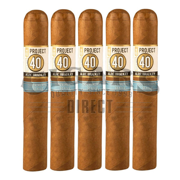 Load image into Gallery viewer, Alec Bradley Project 40 Gordo 06.60 5 Pack