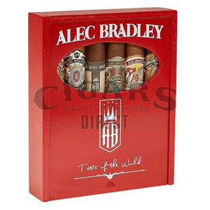 Alec Bradley Taste of the World Sampler #100 Box Closed