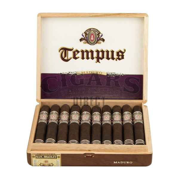 Load image into Gallery viewer, Alec Bradley Tempus Maduro Imperator Opened Box