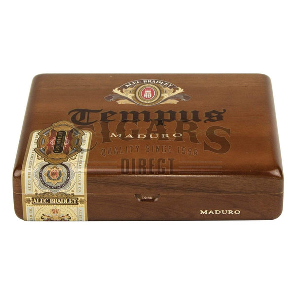 Load image into Gallery viewer, Alec Bradley Tempus Maduro Medius 6 Closed Box