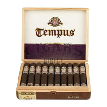 Load image into Gallery viewer, Alec Bradley Tempus Maduro Medius 6 Opened Box