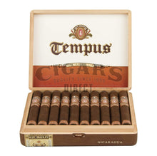 Load image into Gallery viewer, Alec Bradley Tempus Nicaragua Imperator Opened Box