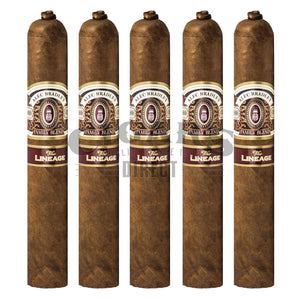 Alec Bradley The Lineage 665 5 Pack