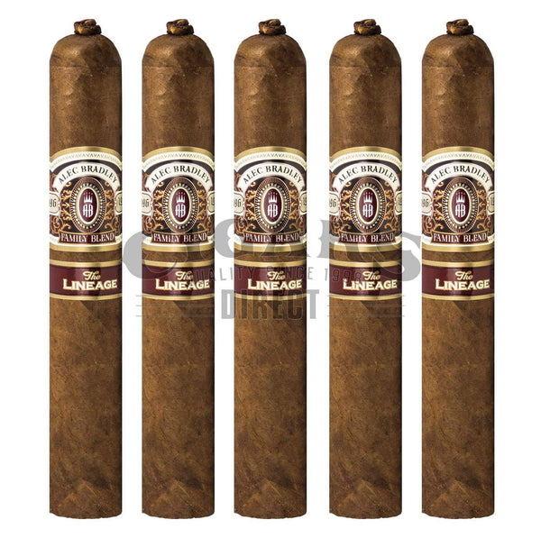 Load image into Gallery viewer, Alec Bradley The Lineage 665 5 Pack