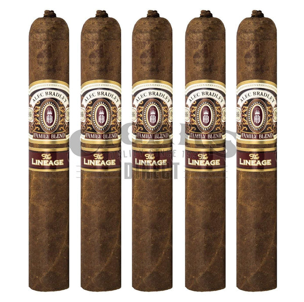 Load image into Gallery viewer, Alec Bradley The Lineage Gordo 5 Pack