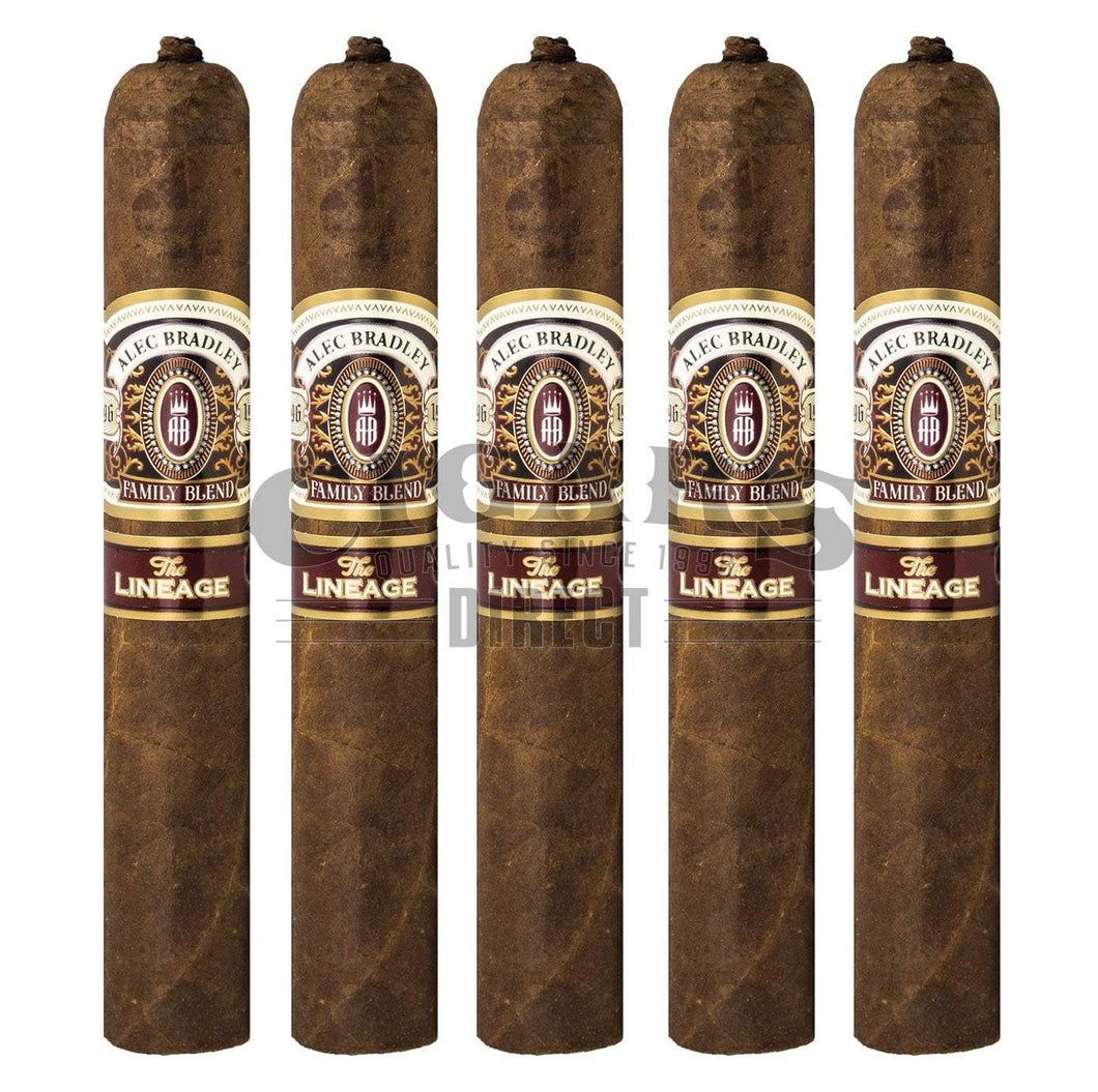 Alec Bradley The Lineage Gordo 5 Pack