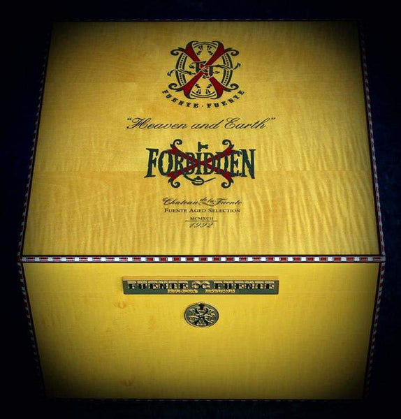 Load image into Gallery viewer, Arturo Fuente Aged Selection 2017 Heaven and Earth Opus X Forbidden X Humidor