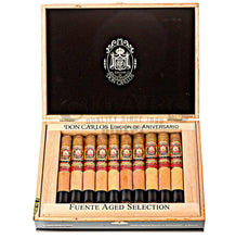 Load image into Gallery viewer, Arturo Fuente Don Carlos Edicion De Aniversario Toro Box Open