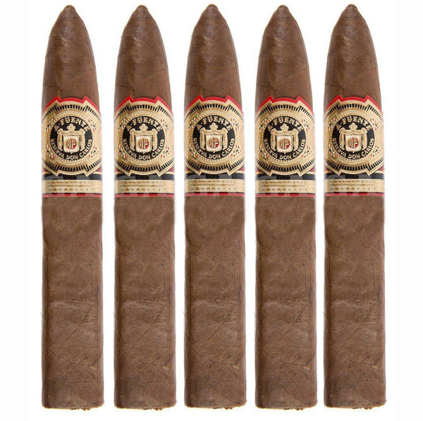 Load image into Gallery viewer, Arturo Fuente Don Carlos Eye Of The Shark 5 Pack