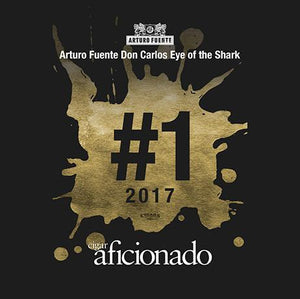 Arturo Fuente Don Carlos Eye Of The Shark 2017 No.1 Cigar of The Year