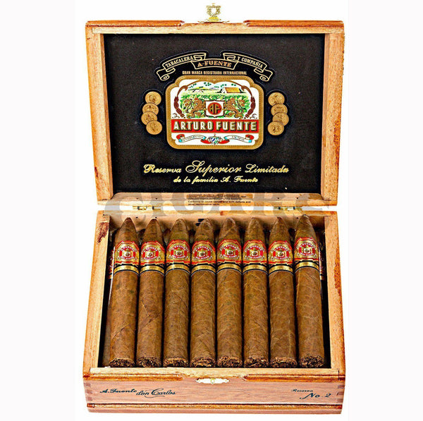 Load image into Gallery viewer, Arturo Fuente Don Carlos No 2 Box Open