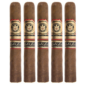 Arturo Fuente Don Carlos Personal Reserve Robusto 5 Pack