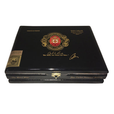 Arturo Fuente Don Carlos Personal Reserve Robusto Box Closed