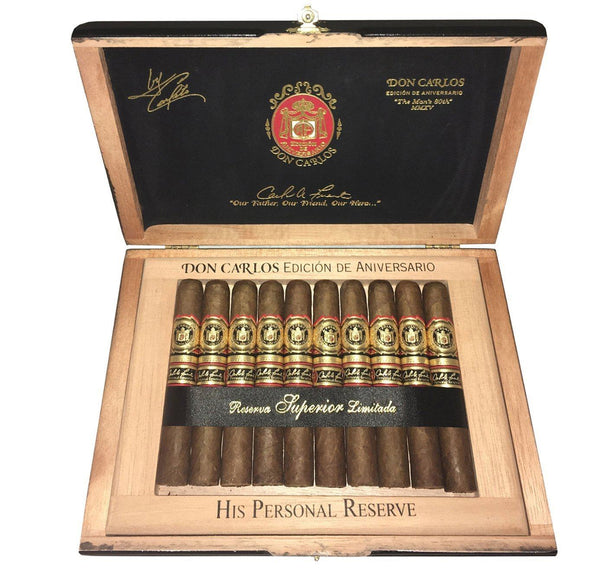 Load image into Gallery viewer, Arturo Fuente Don Carlos Personal Reserve Robusto Box Open