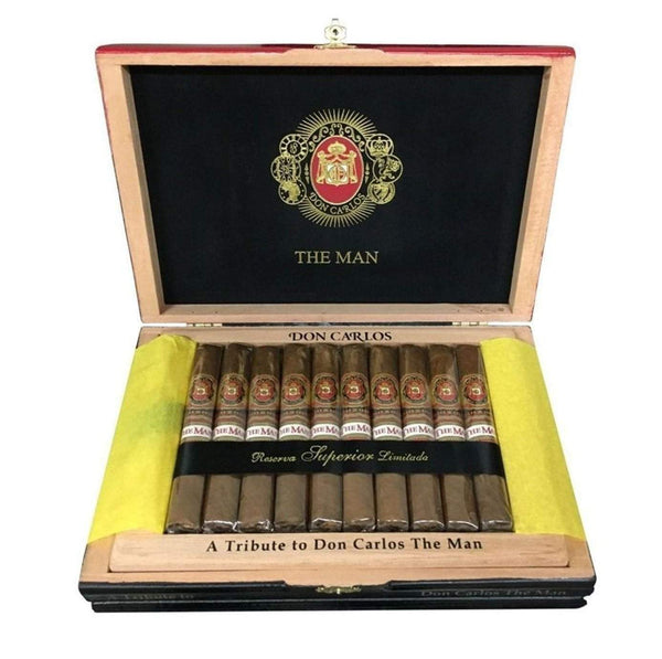Load image into Gallery viewer, Arturo Fuente Don Carlos The Man And Legend Box Open