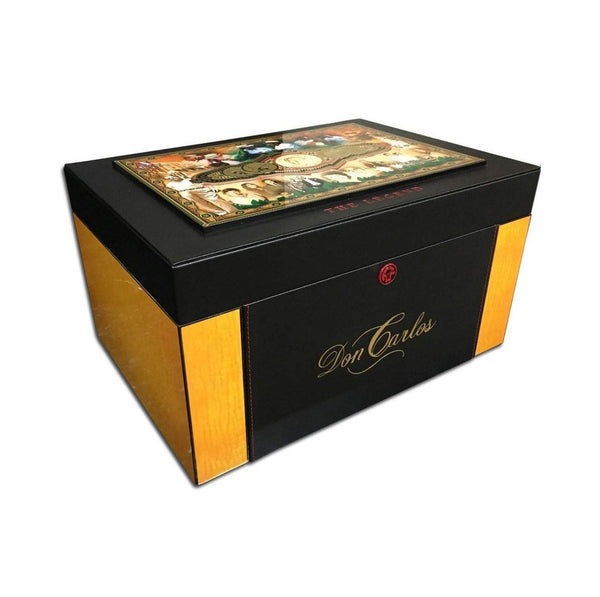 Load image into Gallery viewer, Arturo Fuente Don Carlos The Man And Legend Humidor Angle View